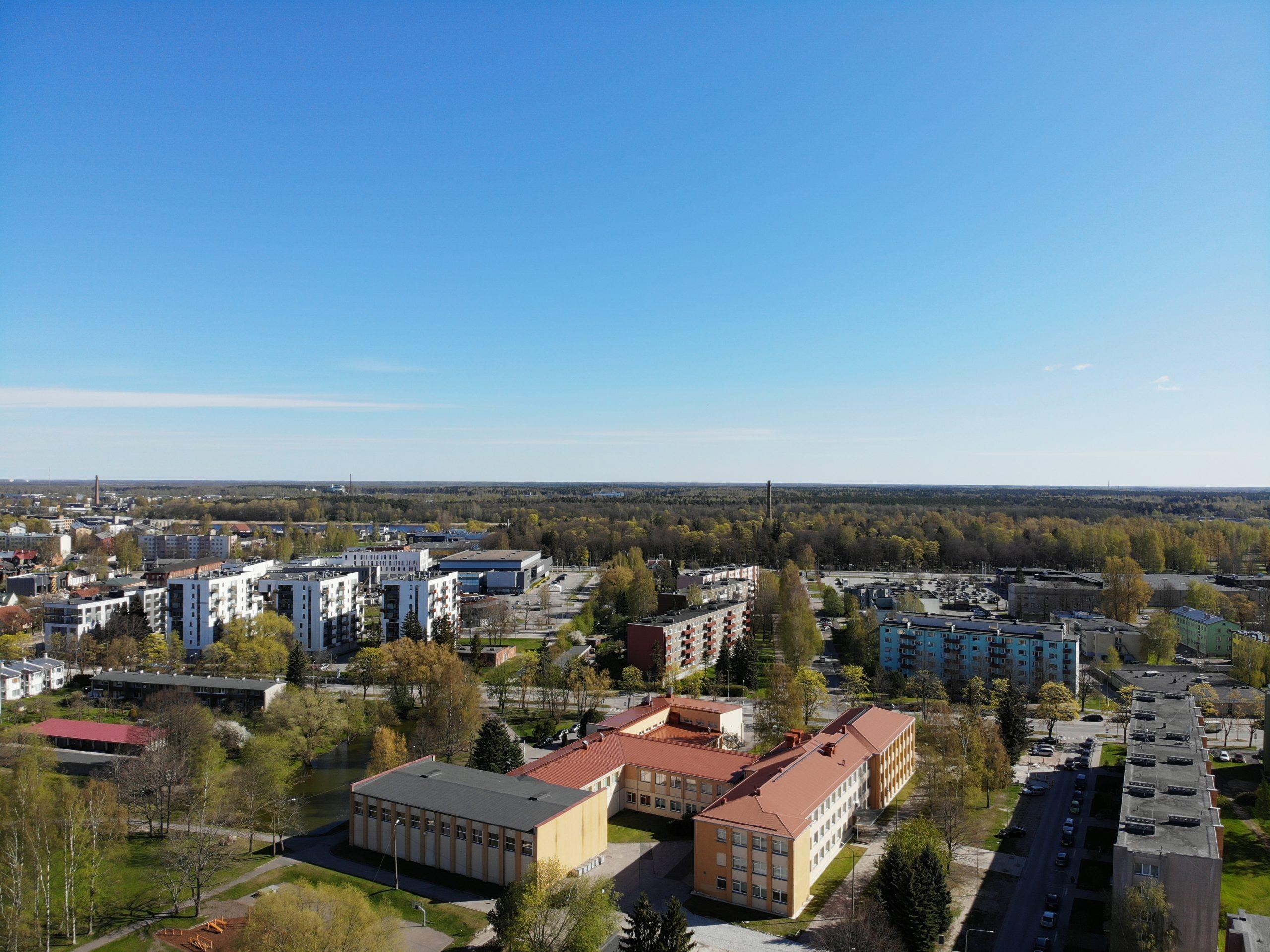 Pärnu linnaosade kaart