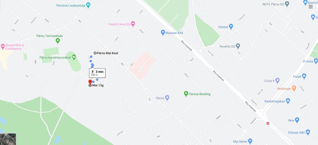 mai 13g google maps