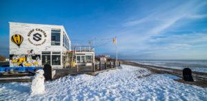 Talvine Pärnu rand 23. jaanuaril 2021